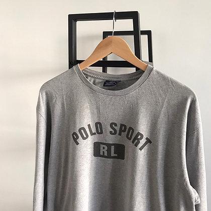 T-shirt manches longues Polo Sport l M I