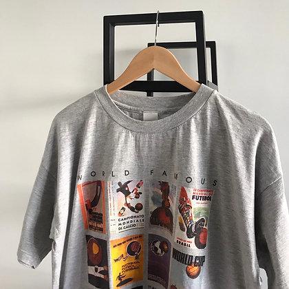 T-shirt Adidas Vintage CDM l L l