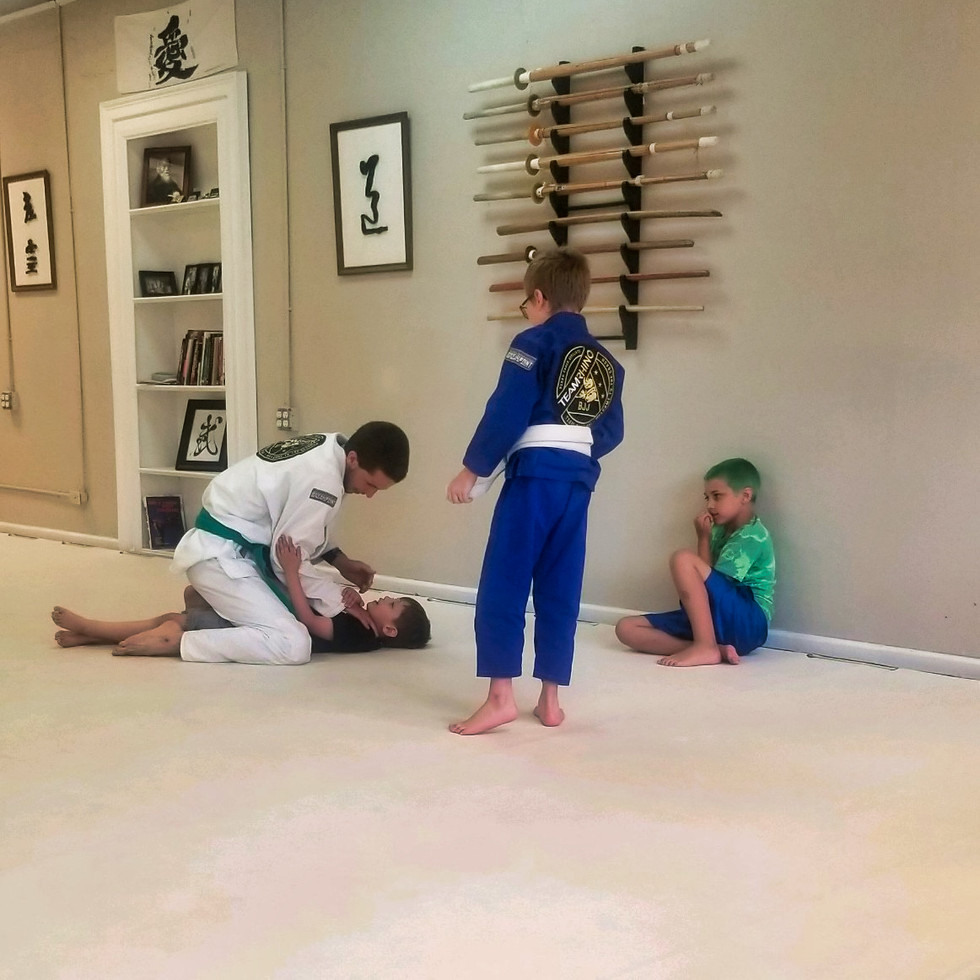 Kids Jiu-jitsu