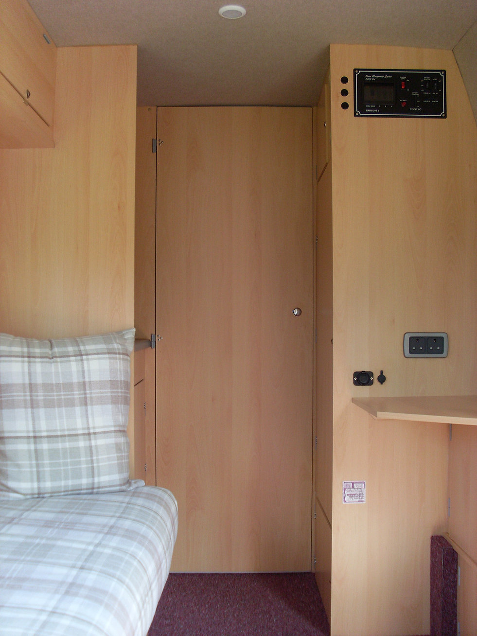 Self Build Campervan Furniture