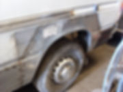 Preparing van for Camper conversion