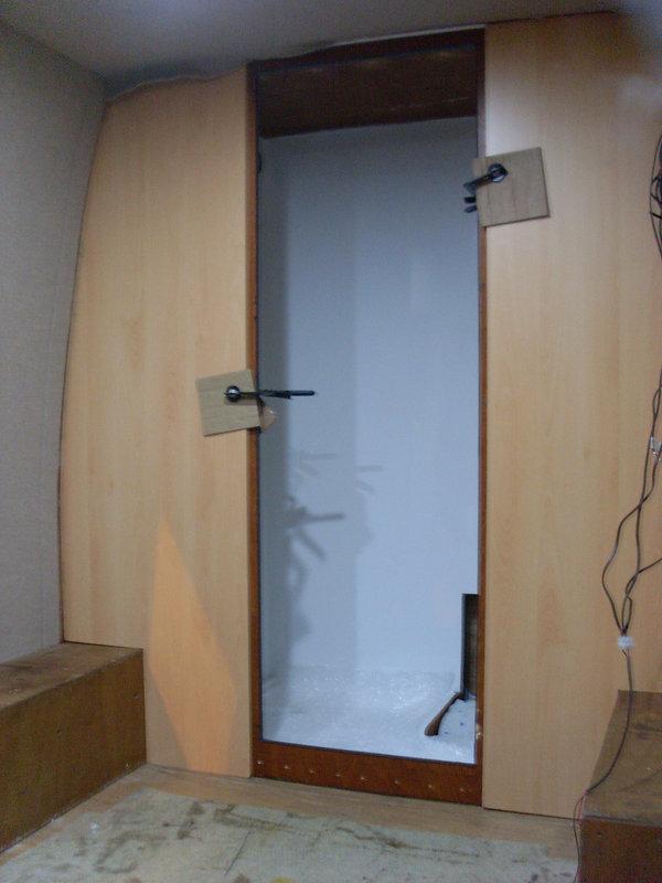 campervan interior cabinets