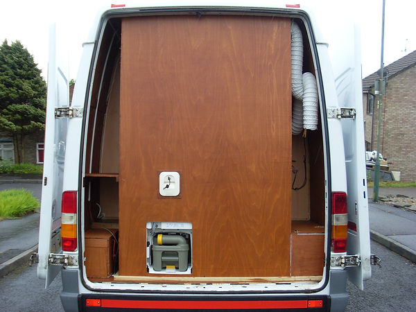 campervan gas electrics toilet