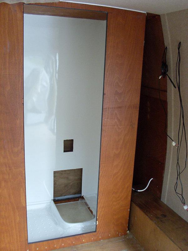 campervan toilet wetroom