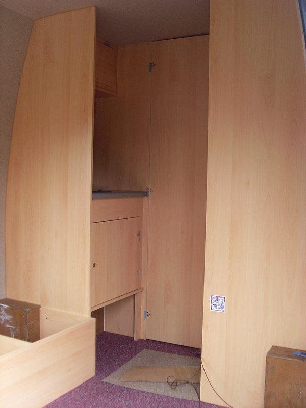 diy campervan furniture
