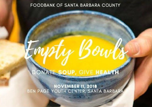 Food Bank Santa Barbara - Empty Bowl