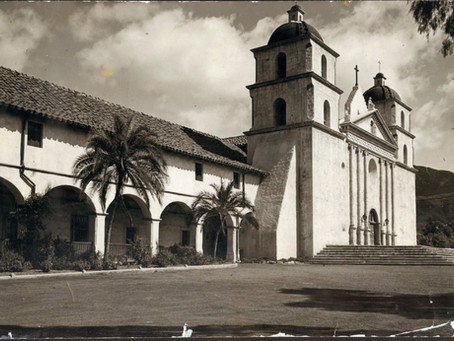 Queen of the Missions in Santa Barbara