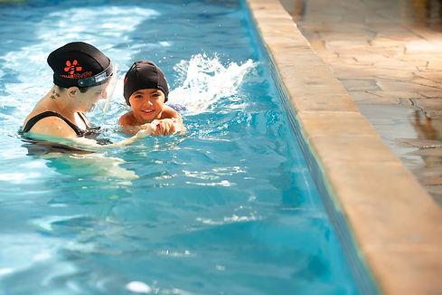 natacao infantil, piscina, Academia Aqua