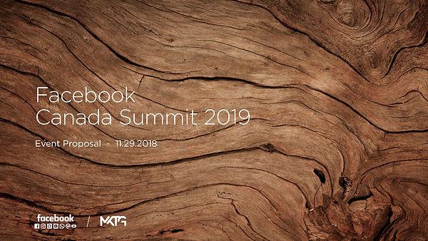 MKTG-RFP Proposal for Facebook Canada Su