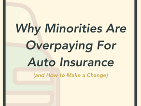 Why Minorities Are Overpaying for Auto Insurance (and How to Make a Change)