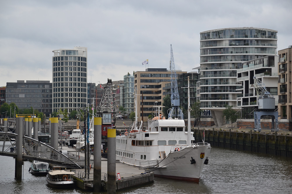 北ドイツに位置する港町ハンブルク