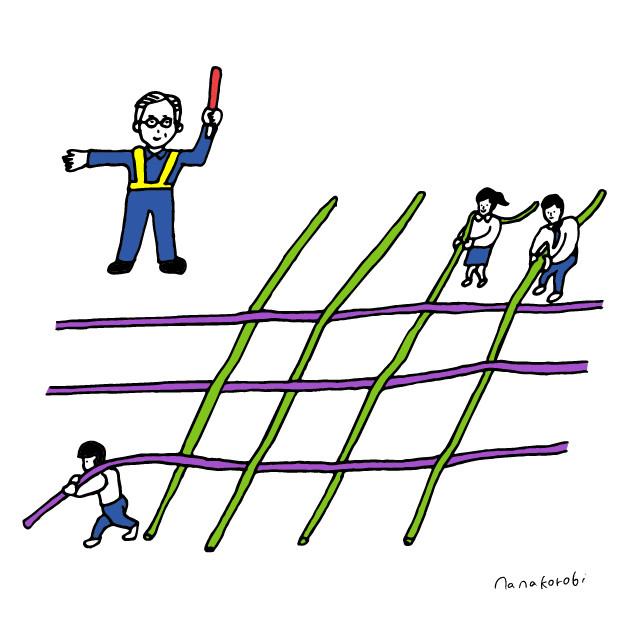 横糸と縦糸