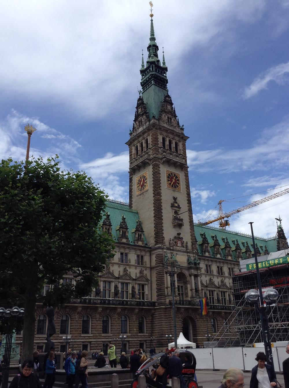 ハンブルク市庁舎