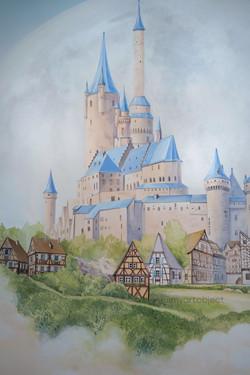 волшебный замок в детской комнате в москве