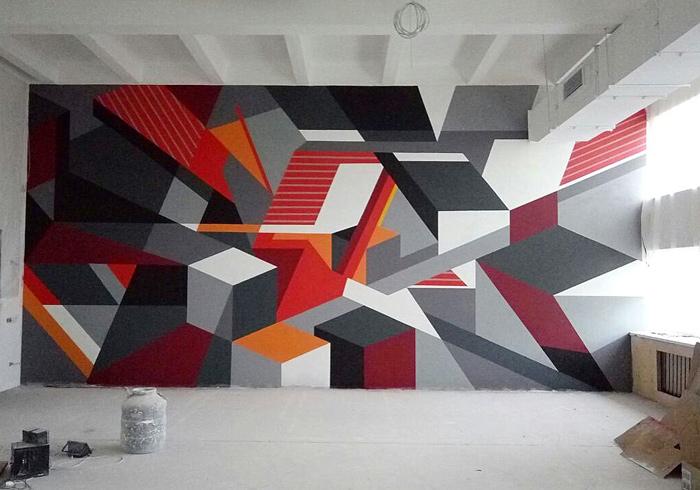 геометрическое-граффити-в-спортзале