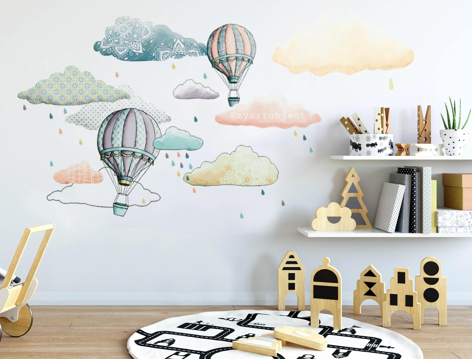 воздушные-шары-в-детской-мальчика