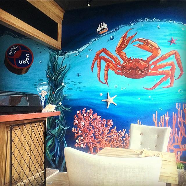 для кафе crab'n'caviar
