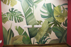 Роспись стен в офисе в Москве по проекту Chef Design