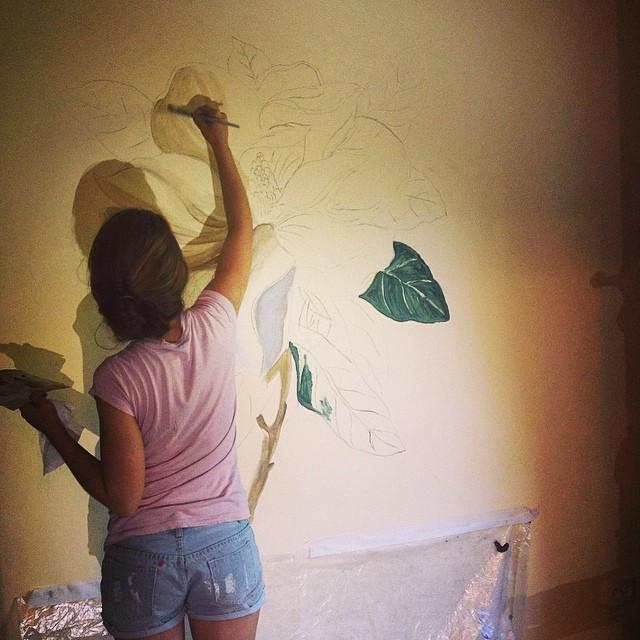 Instagram - #art #artist #artwork #wallart #interior #painting #paint #wallpaint