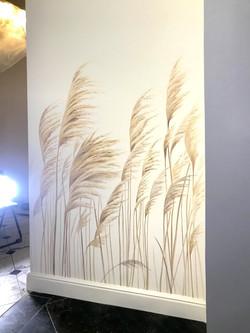 Роспись стен для общественного интерьера для мероприятий