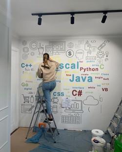 Роспись офиса - языки программирования
