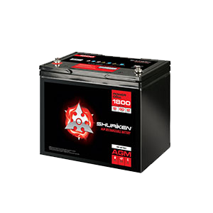 1800W / 80AMP HOURS AGM 12V Battery