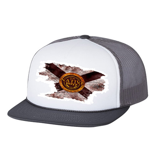 Native Boyz Florida Flag Distressed Hat