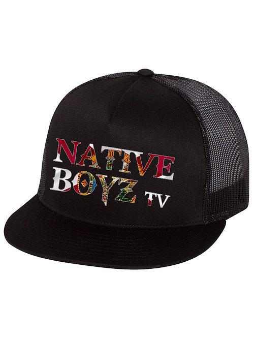 Native Boyz Florida Flag Text Hat