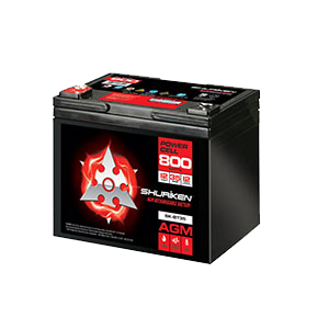 800W / 35AMP HOURS AGM 12V Battery