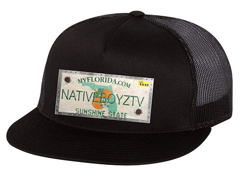 Native Boyz License Plate Hat