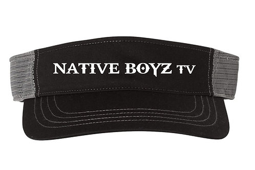 Native Boyz Text Visor