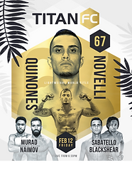 3 titles on the line at Titan FC 67, Contender Series alumni stack card in Miami