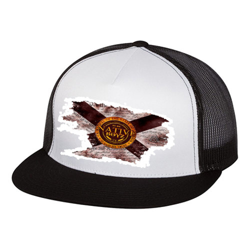 Native Boyz Florida Flag Distressed Hat