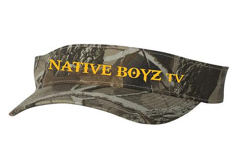 Native Boyz Text Visor