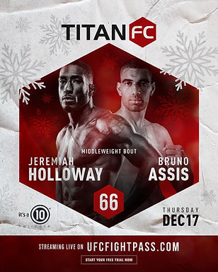 Titan FC 66 results – Assis vs. Holloway