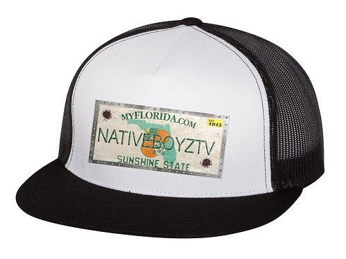 Native Boyz License Plate Hat