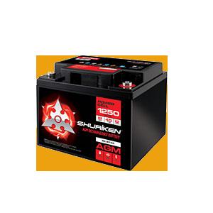 1250W / 45AMP HOURS AGM 12V Battery
