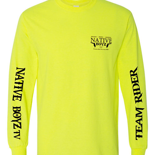Native Boyz Full Logo Long Sleeve