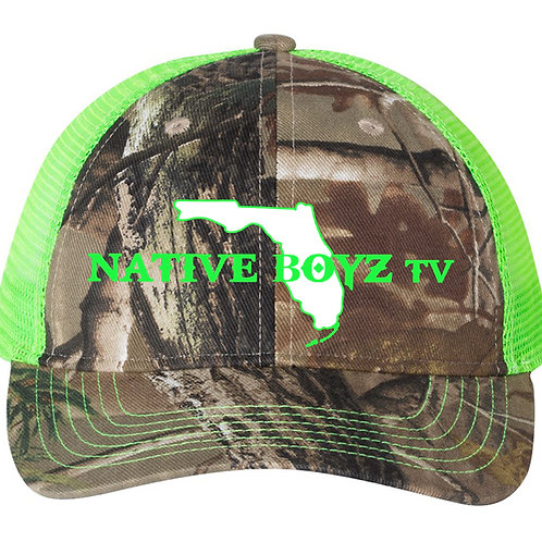 Native Boyz Text Hat