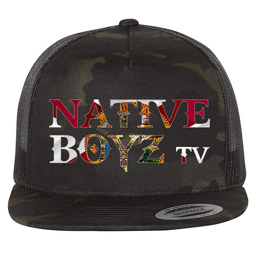 Native Boyz Florida Flag Text Hat