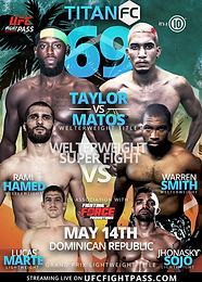 A new welterweight champion to be crowned in Dominican Republic at Titan FC 69