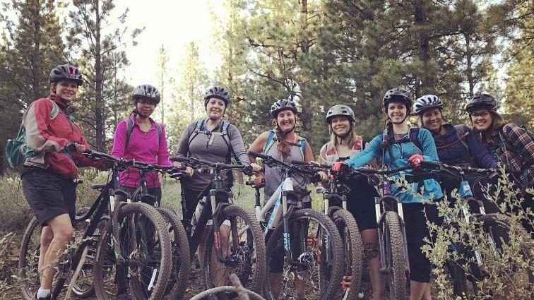 Ladie's Group MTB Ride