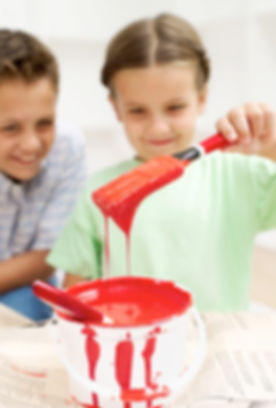 děti malování