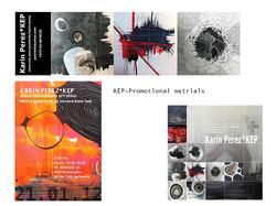 Artist KEP-print materials design