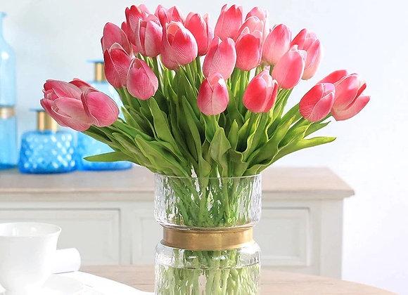 Ramo de Tulipanes de Seda (6 u)