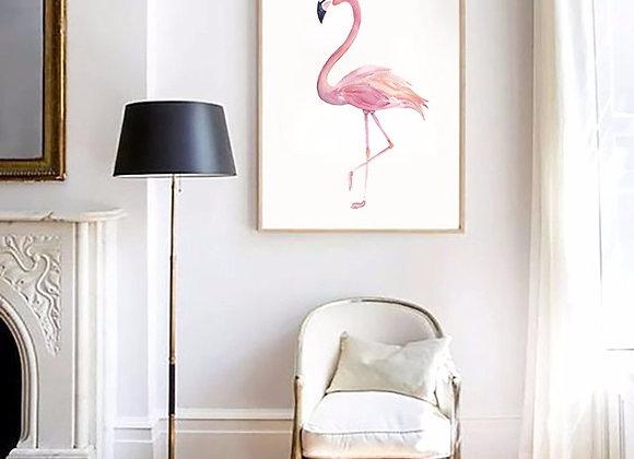Lona Flamingo 40x50