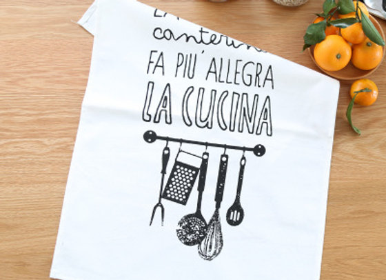 Paño de Cocina - La Cucina