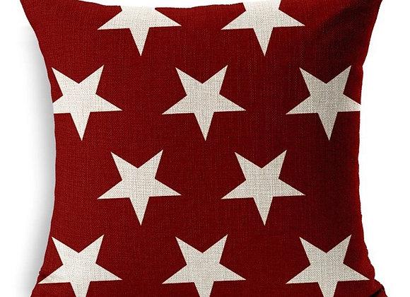 Cojín Burdeo Alot Stars