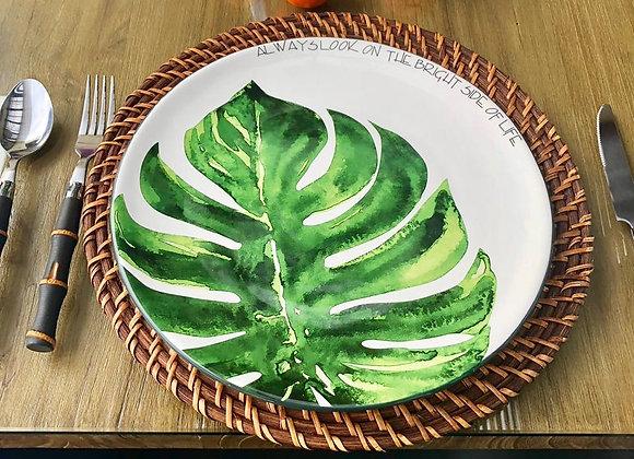 Plato Monstera Green