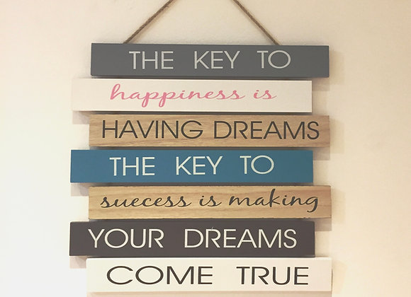 Colgante Key To Happiness